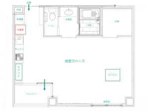 Bタイプ(2人部屋)